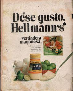 REVISTA CASA: MAYONESA HELLMANN'S.