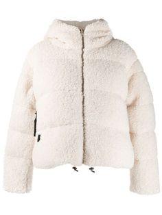 Bacon Big Bear Jacket In Neutrals Bear Jacket, Bear Coat, Pop Fashion, World Of Fashion, Fashion Design, Fashion Trends, Cream Outfits, Big Bear, Size Clothing