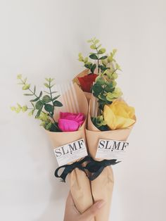 crepe paper flower by: slmf