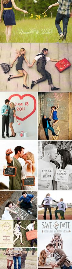 58 save the date ideas!