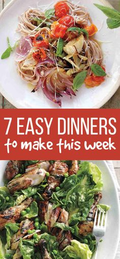 7 Easy Dinners For Busy Weeknights