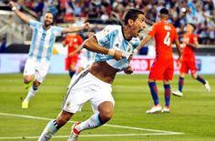 Кубок Америки: сборная Аргентины одержала победу над командой Чили (ВИДЕО)