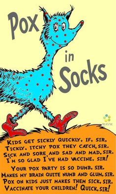 In the style of Dr Seuss...