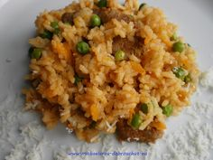 Fried Rice, Food To Make, Fries, Food And Drink, Ethnic Recipes, Bulgur, Kochen, Nasi Goreng