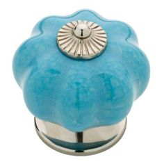 "Alice says, ""for white beadboard vanity & cabinets - pinning ideas for my white beadboard, blue & yellow bathroom remodel project"" .... Previous Pinner said, ""Liberty 1.6 in. Vintage Style Teal Ceramic Finial Knob - KNW002-MUL-C - The Home Depot"""
