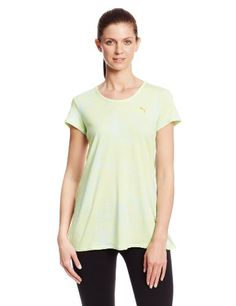 PUMA Women's Fashion Tee, Sunny Lime, Medium PUMA http://www.amazon.com/dp/B00FLCT67K/ref=cm_sw_r_pi_dp_.CSVvb0BJFXP5