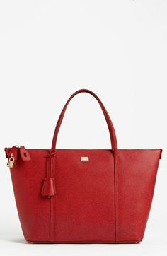 Dolce 'Miss Escape - Classic' Leather Tote in rosso, in case I ever win the lottery $1195