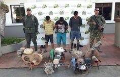 El ejército nacional continúa atacando la minería ilegal en el Putumayo