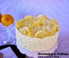 This Lemon  cake is one of my favorites cakes. It is a sweet and buttery cake with a moist yet dense texture. Click on the link below for the recipe: http://brownyscakes.blogspot.nl/2013/09/lemon-cake-recipe.html   For all the upcoming recipe just subscribe for my blog