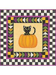 """Cute! Not So Spooky Wall Hanging Kit - 28 1/2"""" x 28 1/2"""""""