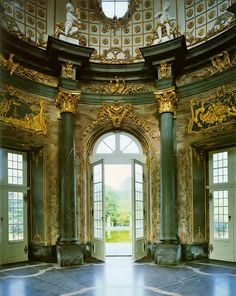 Eremitage (Bayreuth, Germany) close to the house...a great place to walk