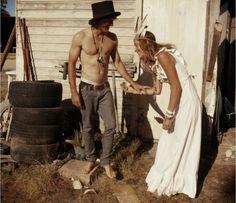 Free Spirit / Wedding Style Inspiration / LANE everything about this. Bohemian Bride, Boho Gypsy, Hippie Boho, Hippie Bride, Bohemian Soul, Gypsy Soul, Circus Wedding, Boho Wedding, Dream Wedding