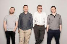 Intercom cofounders Eoghan McCabe, Des Traynor, David Barrett and Ciaran Lee. (Credit: Intercom)
