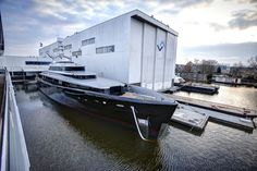 Kiss is a 46.40m luxury motor yacht by Dutch yacht builder Feadship. She was launched on 14th February 2015 and was designed by Dubois and RWD.