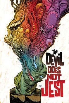 Abe Sapien: The Devil Does Not Jest #2. Very cool cover art.