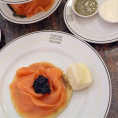 There is nothing quite like a little smoked salmon at our #FoodHalls Caviar House.