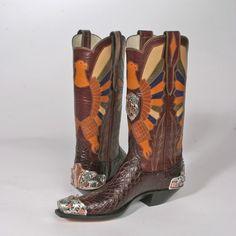 Custom Boots by Lisa Sorrel