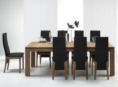 Renton Langbord - Renton Langspisebord i oliebehandlet eg. Rammen og benene er fremstillet af massiv eg, mens bordpladen er af fineret eg. Op til 8 tillægsplader kan tilkøbes til dette bord, og således skabe et langbord på 630 cm.