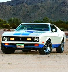 My first Car: Spirited Spirit - 1972 Ford Mustang Sprint Roush Mustang, 1973 Mustang, Ford Mustang Shelby Cobra, Ford Shelby, Mustang Fastback, Ford Mustangs, Shelby Gt500, Car Ford, Ford Gt