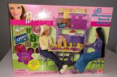 Barbie Doll Set, Barbie Sets, Mattel Barbie, Barbie Bathroom, Barbie Kitchen, Barbie Kelly, Barbie And Ken, Barbie Furniture, Furniture Sets