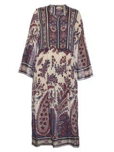 Isabel Marant Étoile Tilda paisley-print midi dress