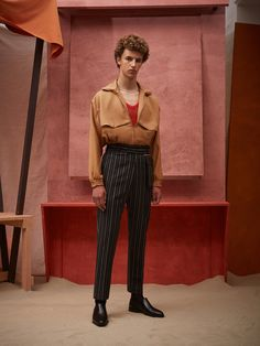 CMMN SWDN Menswear Spring Summer 2017 London