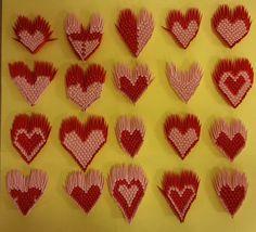 Nicole Sunitsch - Autorin - Gedichte und Zitate - Hobbyautorin und Hobbykünstlerin: 3 D Origami - Kranich und Herz! 3 D, Desserts, Hobbies, Poetry, Quotes, Tailgate Desserts, Deserts, Postres, Dessert
