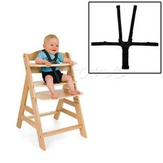Baby 5 Point Stroller & Highchair Harness