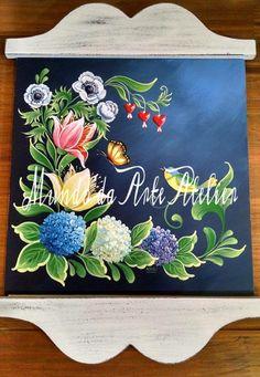 Pintura Bauernmalerei Mundo da Arte Atelier