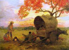 'Supper in the Field' - F. Amorsolo  1956