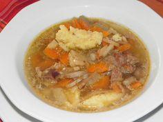 Karcsi főzdéje: Kacsa becsinált leves