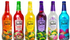 Caribbean Twist Bottle Designs