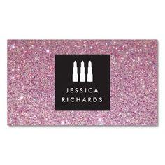 Lipstick Trio Logo For Freelance Makeup Artist Iii Business Card