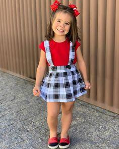 s Clothing Children' Kids Dress Wear, Dresses Kids Girl, Cute Girl Outfits, Little Girl Outfits, Little Girl Fashion, Kids Outfits, Toddler Girl Style, Toddler Fashion, Kids Fashion