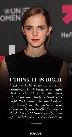 Emma Watson Is Our Feminist Hero