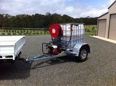 Straightforward diy welding projects ideas navigate to this web-site Lawn Trailer, Work Trailer, Trailer Diy, Trailer Build, Utility Trailer, Ibc Tank, Trash Pump, Landscape Trailers, Landscaping Equipment