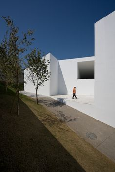 Architecture is about mass and weight. Santo Tirso call centre by Aires Mateus.