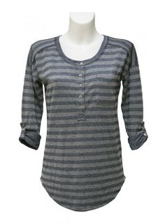 WWW.WHITESBOUTIQUE.COM grey-striped-splendid-top