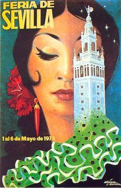 affiche feria 1973