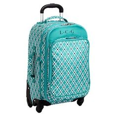 Jet-Set Pool Petal Chain Carry-On Suitcase #pbteen @pbteen