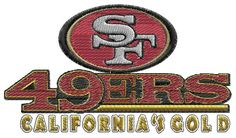 San Francisco 49ers machine embroidery design by BiaForceDesigns, $4.50