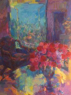 Lib Steward. Oil on canvas