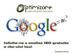 Te ajutam sa iti depasesti competitorii !!! Sa iesi in fata !! Sa fii primul !! http://www.optimizare-web-site.ro/