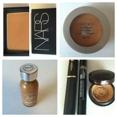 I am Nars shade Tahoe, this is very similar to Neutrogena honey beige 70. I usually don't apply liquid foundation just conceal under my eyes and powder my face. Concealers Make up for ever HD 355, Lancôme shade caramel and Laura Mercier #4 are all closer to Loreal true match W7. Yes it's a liquid foundation but it works well for me as a concealer ! And super cheap!