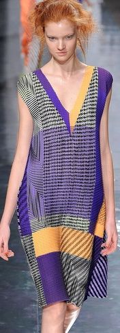 throw this baby on and take it for a ride  Issey Miyake SS13