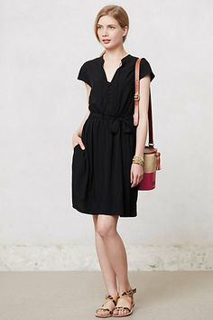I want to think this would look good on me, but I have a feeling this won't work on actual humans: Odilia Shirtdress #anthropologie
