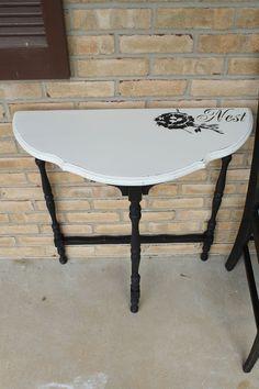 Primitive & Proper Table Makeover