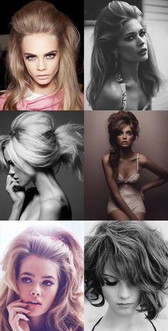 Wish I could do these hairstyles on myself!