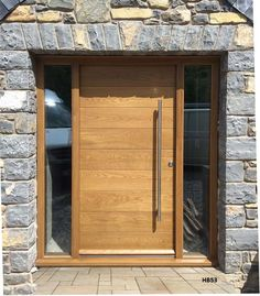 Image result for contemporary oak front doors
