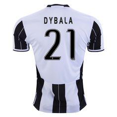 Juventus 16/17 DYBALA Home Soccer Jersey - WorldSoccershop.com | WORLDSOCCERSHOP.COM